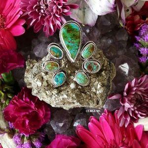 Jewelry - Kingman Turquoise Naja Ring (4.5)